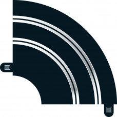 SCALEXTRIC-C8201 Chicane Curve R1 Inner 90'