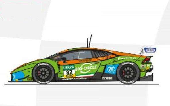 CARRERA-30969  Future Release Digital Lamborghini Huracan GT3 #82