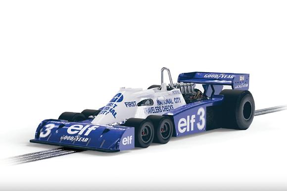 SCALEXTRIC-C4245 Future Release Tyrrell P34 #3 1977 Belgian Grand Prix
