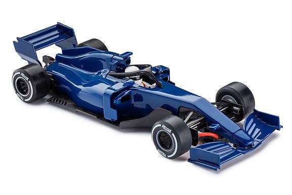 POLICAR-CAR07 Blue F1 Monoposto
