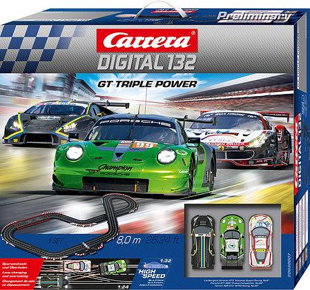 CARRERA-30007 Triple Power 3 Car Set