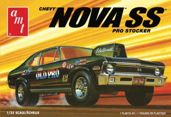AMT-1142 1/25 Chevy Nova SS Old Pro Plastic Kit