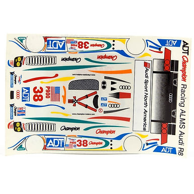 JK-71921ST 1/24 Decal Sheet - Audi R8 Champion #38 LMP