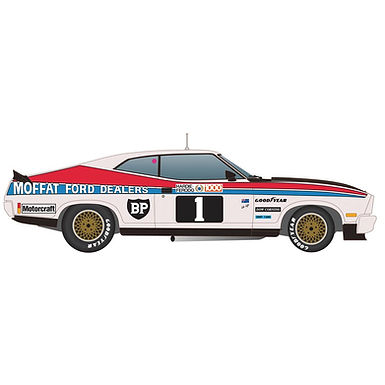 SCALEXTRIC-C4197 Ford XC Falcon Coupe - 77 Bathurst Winner Moffat