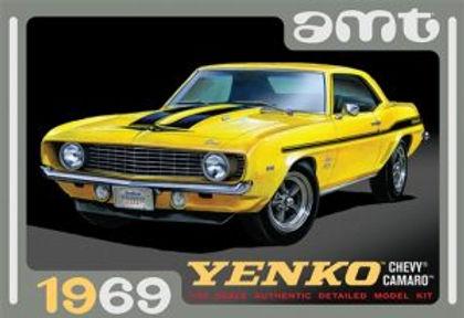 AMT-1093 1/25 Chevy Camaro (Yenko) Plastic Kit