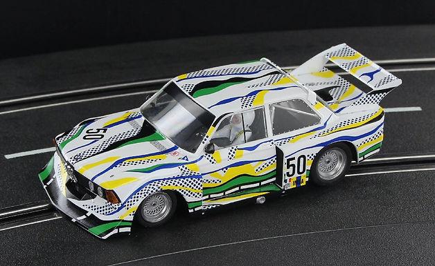 SIDEWAYS-SW72 BMW 320 - Le Mans 1977 Roy Lichtenstein Art Car