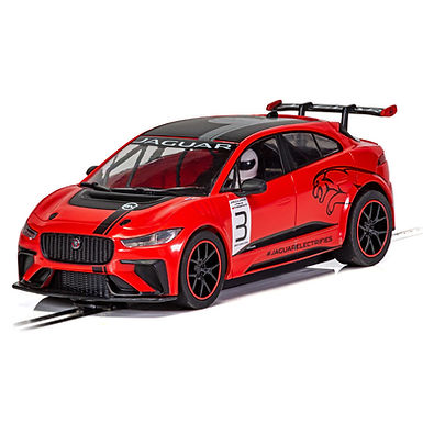 SCALEXTRIC-C4042 Jaguar I-Pace Red New Toolings