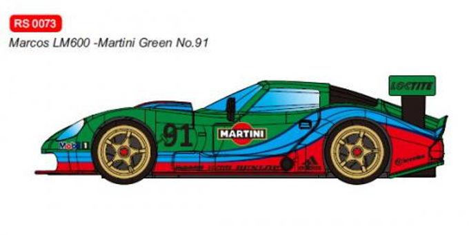 REVOSLOT-0073 Marcos LM600 GT2 No.91 Martini Green