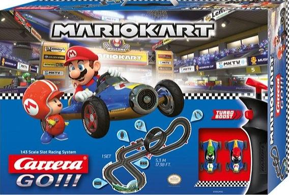 CARRERA GO!!!-62492 Nintendo Mario Kart - Mach 8