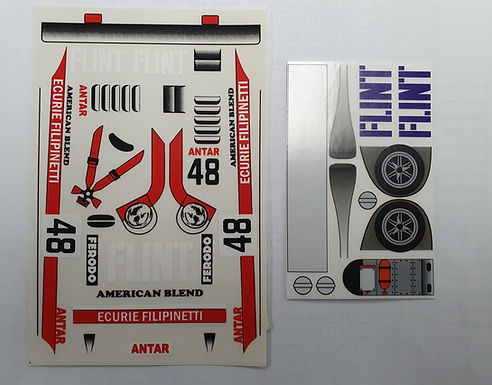 "JK-7501ST Classic Decal Sheet - Lola ""Flint"" #48"