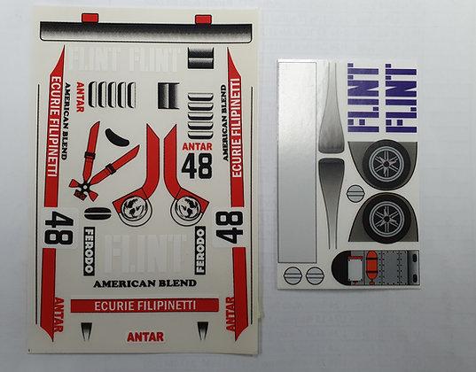 "JK 7501ST Classic Decal Sheet - Lola ""Flint"" #48"