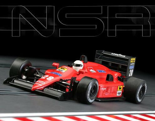 NSR-0146IL F1 Ferrari Red Italia #28