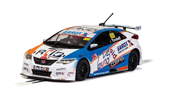 SCALEXTRIC C4144 Honda Civic Type R BTCC 2019 - Sam Tordoff