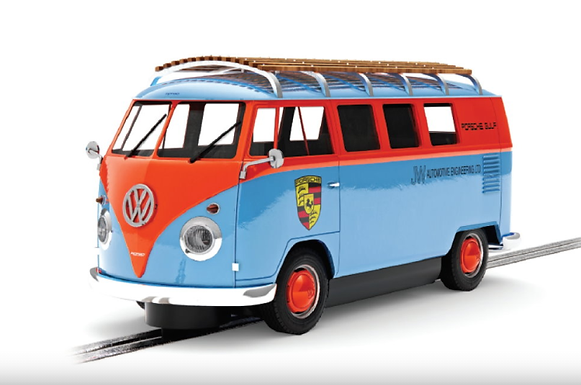 SCALEXTRIC-C4217 Future Release VW T1b Microbus ROFGO Gulf Collection