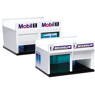 CARRERA-21104 Double Garage & Signage for Pitstop Lane