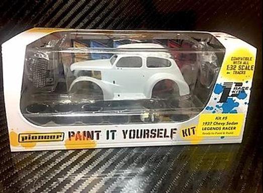 PIONEER-PWK5 1937 Chevy Sedan Hot Rod White Kit