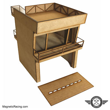 MAGNETIC RACING-022c Modern Pit Building 1:32 scale Kit