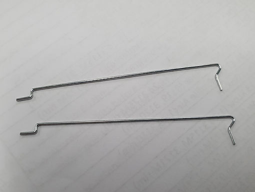 """JK-9008B Body Clips For 4"""" & 4 1/2"""" Cheetah 7 & 11 Chassis - 1 Pair"""