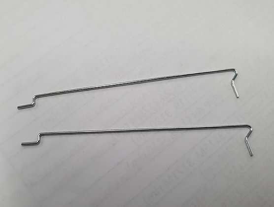"""JK 9008B Body Clips For 4"""" & 4 1/2"""" Cheetah 7 & 11 Chassis - 1 Pair"""