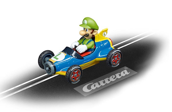 CARRERA GO!!! 64149 Nintendo Mario Kart - Mach 8 Luigi
