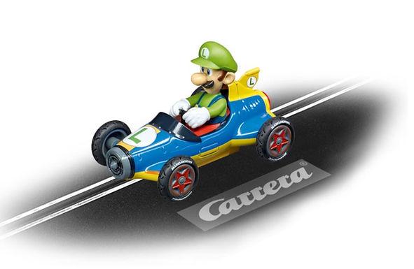 CARRERA GO!!!-64149 Nintendo Mario Kart - Mach 8 Luigi