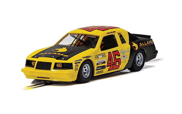 SCALEXTRIC-C4088 Ford Thunderbird - Yellow & Black #46