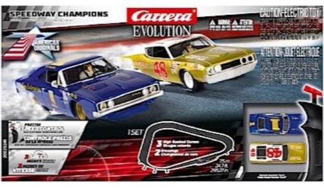 CARRERA-25241 Future Release Evo Speedway Champions Set 1/32