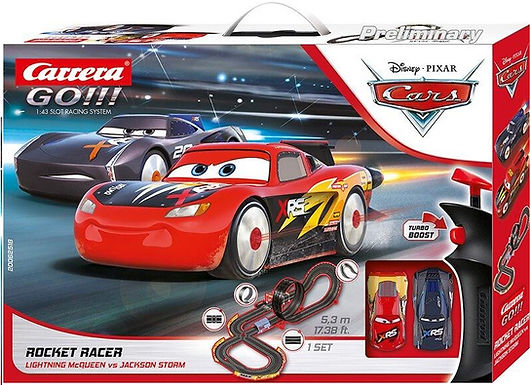 CARRERA GO!!!-62518 Disney Pixar Rocket Racer
