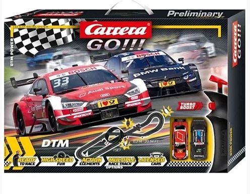 CARRERA GO!!!-62479 DTM Power Set