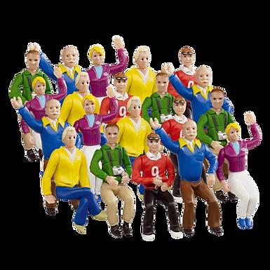 CARRERA-21129 Set of 20 Figures / Spectators