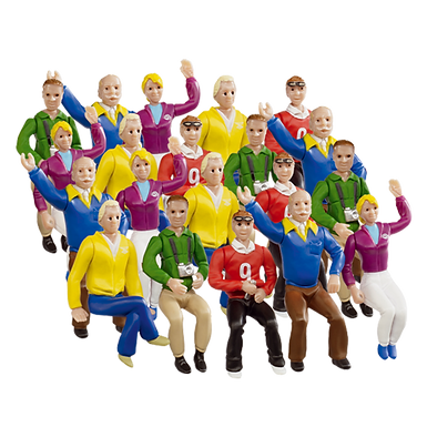 CARRERA-21129 Set of 20 Figures / Spectators