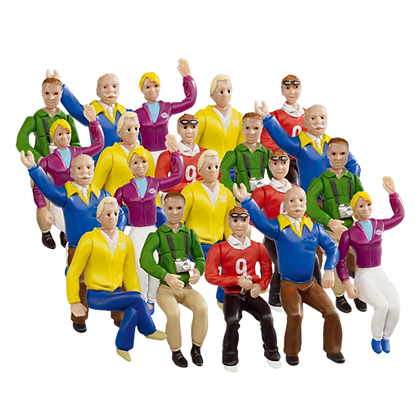 CARRERA 21129 Set of 20 Figures / Spectators