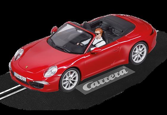 CARRERA-27534 Evo Porsche 911 S Cabriolet (Red)
