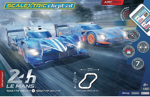 SCALEXTRIC-C1404 Future Release Digital Arc Pro 24hr Le Mans Race Set