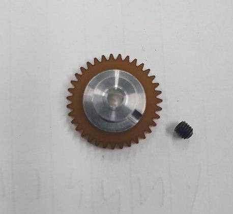 """PLAFIT 8543CX Spur Gear 35T 3/32"""" Axle"""