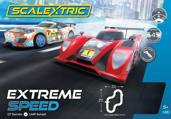 SCALEXTRIC C1406 Extreme Speed Set