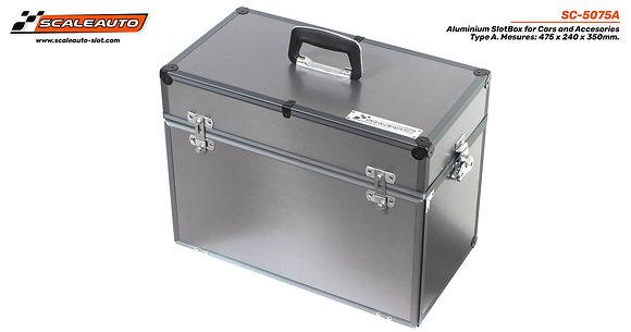 SCALEAUTO-5075A Aluminium Slot Box - Large