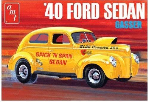 AMT 1088 1940 Ford Sedan Model Kit 1/25
