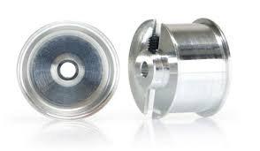 SLOT.IT SIWH1212-AL  2 x 15 x 9.5mm wheels - sponge tyre