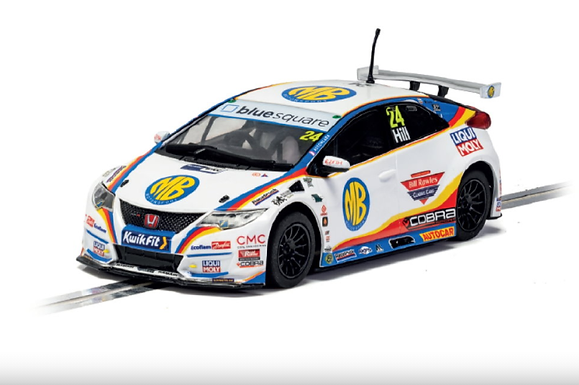 SCALEXTRIC-C4210 Future Release Honda Civic Type-R #24 NGTC Jake Hill