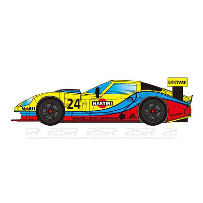 RevoSlot Future Release  0074 Marcos LM600 GT2 No.24 Martini Yellow
