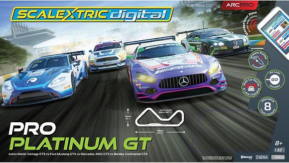 """SCALEXTRIC Future Release C1413 ARC PRO PLATINUM GT SET """"DUE OCTOBER"""""""