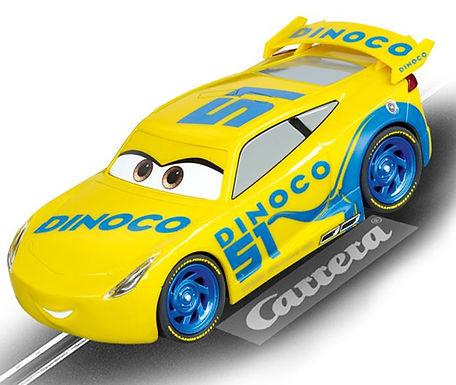 CARRERA-27540 Evo Disney Pixar Cars 3 - Dinoco Cruz. 1/32 scale slot car.