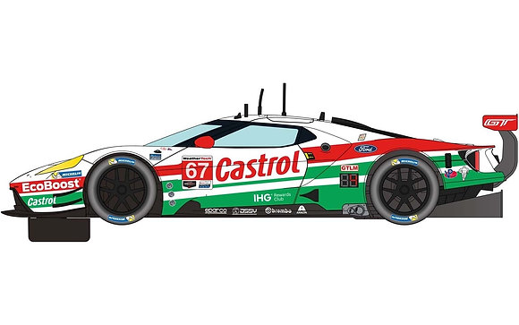 SCALEXTRIC Future Release C4151 FORD GT GTE DAYTONA 2019 NO.67