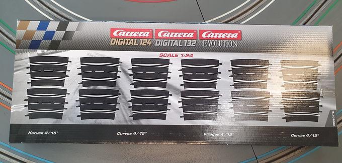 CARRERA 20578 Curve Track 4/15° (12 pce)