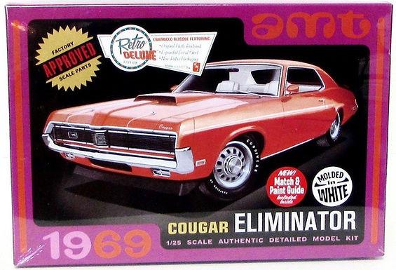 AMT-991 1969 Cougar Eliminator Model Kit 1/25