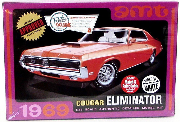AMT 991 1969 Cougar Eliminator Model Kit 1/25