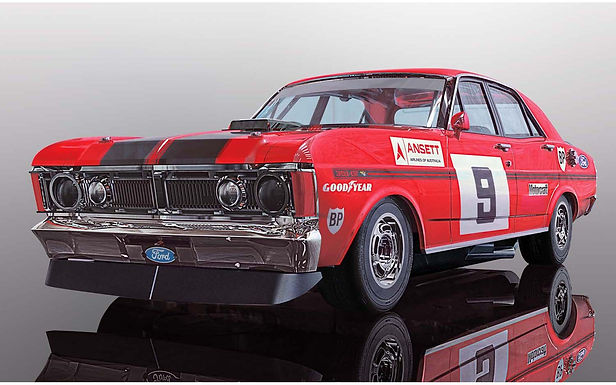 SCALEXTRIC-C4028 Ford XY Falcon, ATCC 1973 Winner