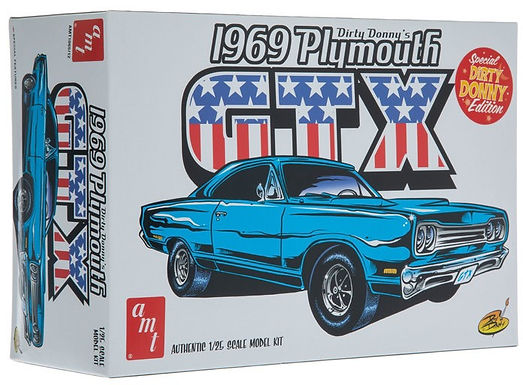AMT 1065 1969 Plymouth GTX Model Kit 1/25 Dirty Donny's
