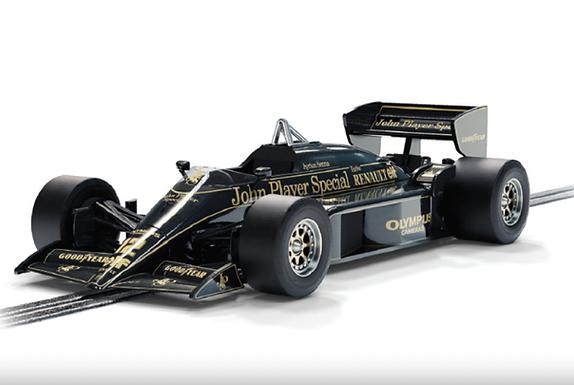 SCALEXTRIC-C4234 Future Release Lotus 97T #12 Portugese GP 1985